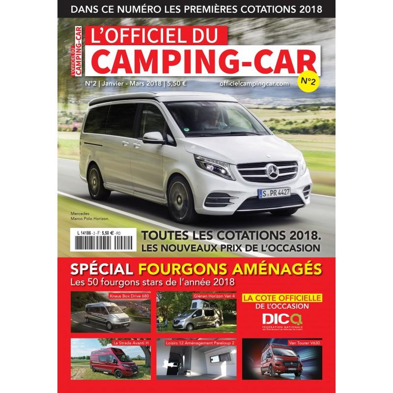 abonnement officiel camping car 4 num ros. Black Bedroom Furniture Sets. Home Design Ideas