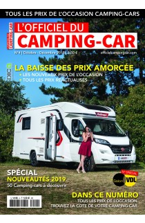 Officiel du Camping-Car n°4 - Octobre / Décembre 2018
