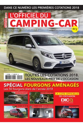 L'Officiel du Camping-Car n°2 - Janvier / Mars 2018