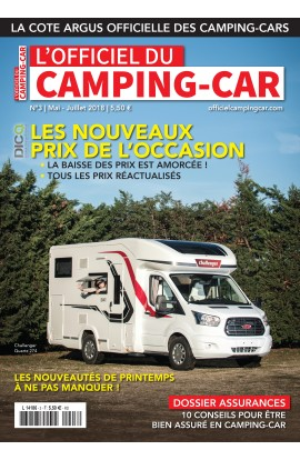 Officiel du Camping-Car n°3 - Mai / Juillet 2018