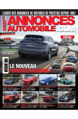 Annonces Automobile n°295 - octobre 2017