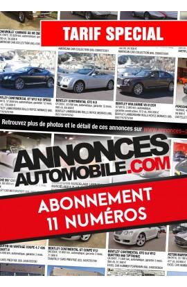 Abonnement Annonces Automobile