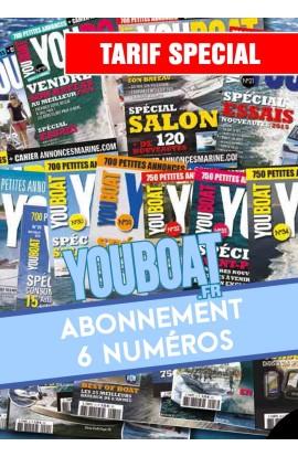 Abonnement Youboat 6 numéros