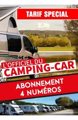 Abonnement Officiel du Camping-Car - 4 Numéros