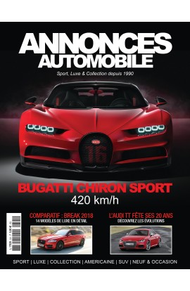 Annonces Automobile n°301- Avril 2018