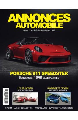 Annonces Automobile n°307 - Novembre 2018