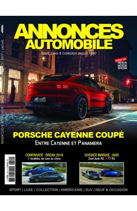 Annonces Automobile n°312 - Avril 2019
