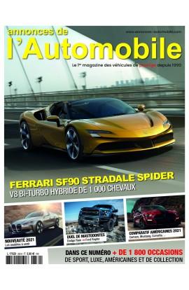Annonces Automobile n°330 - Janvier 2021