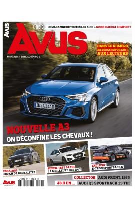 Avus n°57 - aout/septembre 2020